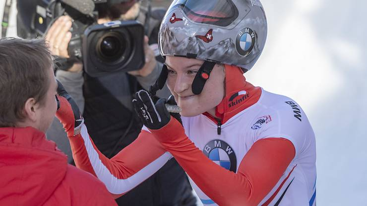Vor allem mit der zweiten Fahrt sehr zufrieden: Marina Gilardoni fuhr in St. Moritz auf den 6. Platz