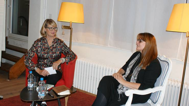 Sybil Schreiber im Gespräch mit Claudia Hauser