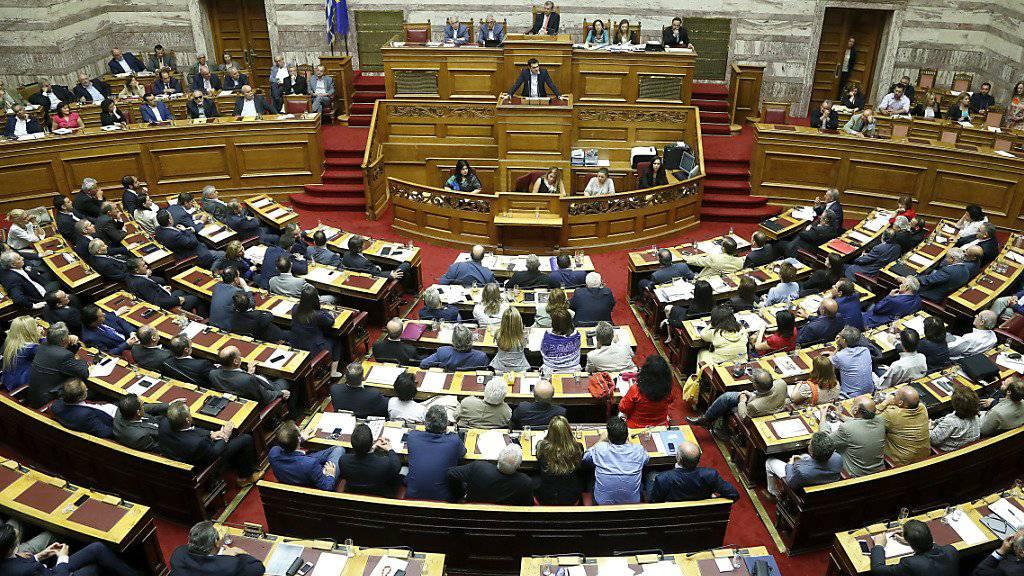 Das Parlament in Griechenland wird sich demnächst mit offenbar korrupten Ärzten und Novartis befassen. (Archivbild)