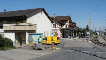 Seit gestern nicht mehr für Kunden offen: die ehemalige Filiale beim Bahnhof.