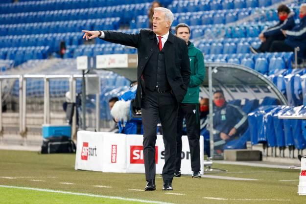 Nationaltrainer Vladimir Petkovic: mutig und selbstbewusst.