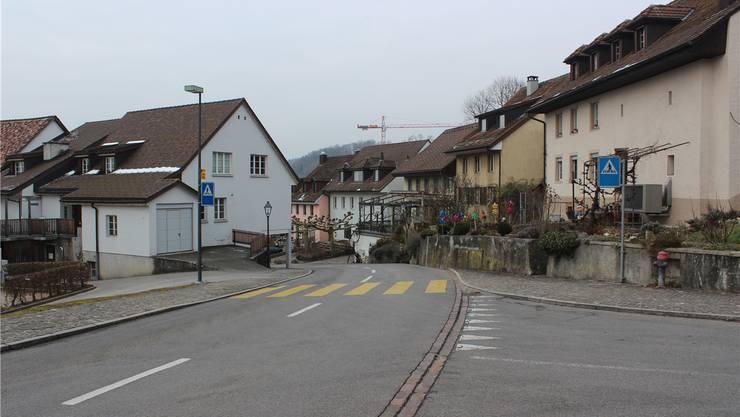 Die Kantonsstrasse in Biberstein muss erneuert werden.