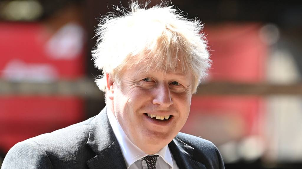Johnson will vor Wahlen Optimismus verbreiten