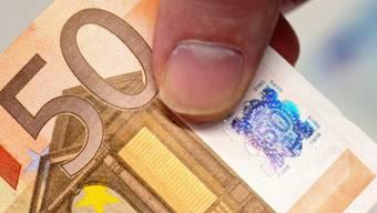 Eine 50-Euro-Note