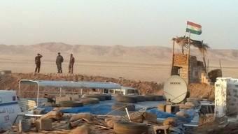 Die irakisch-kurdische Peschmerga im zurückeroberten Amerli