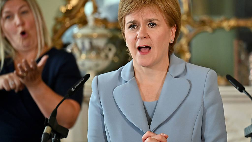ARCHIV - Schottlands Regierungschefin Nicola Sturgeon hat ihre Pläne für ein neues Unabhängigkeitsreferendum spätestens Ende 2023 untermauert. Foto: Jeff J Mitchell/PA Wire/dpa