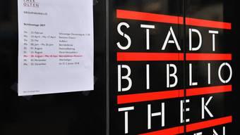 Stadtbibliothek Olten - Öffnungszeiten-Ferientermine