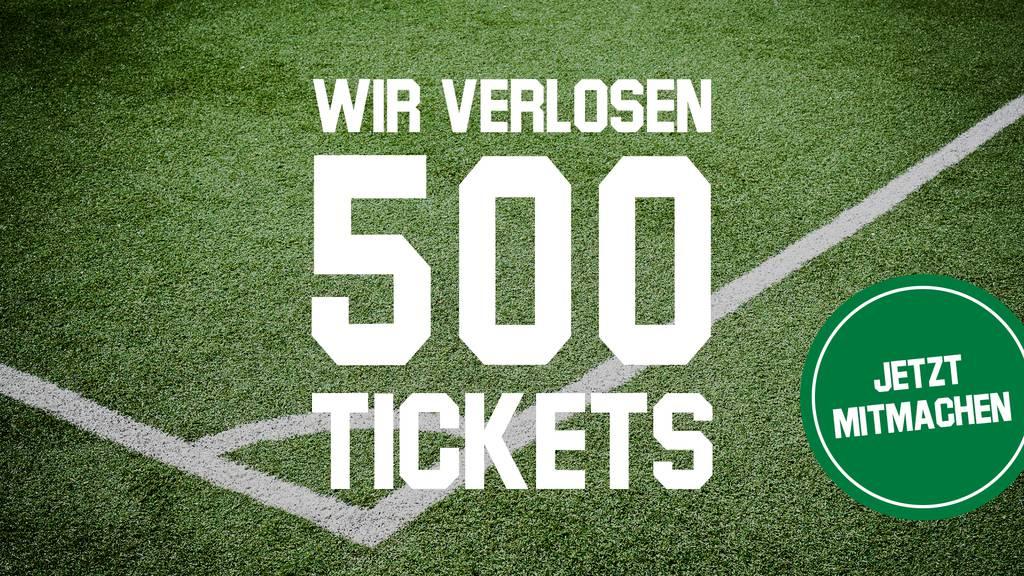 500 Tickets für das Spiel gegen den FC Basel
