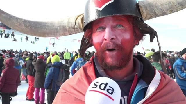 Nebel vermiest in St.Moritz das Skifest