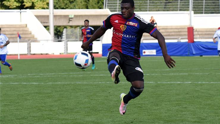 Neftali Manzambi war einer von fünf Spielern aus dem Profi-Kader, der am Samstag mti der U21 spielte. (Archivbild)