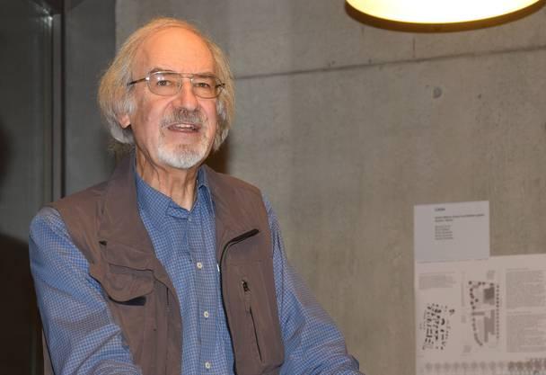 Peter Müller, Präsident des Stiftungsrats, spricht von einem ersten Meilenstein