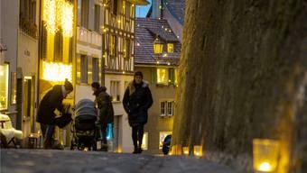Der Adventszauber lockte Mitte Dezember in die untere Altstadt. Chris Iseli