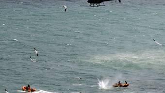 Die neuseeländischen Rettungskräfte konnten nur noch den Leichnam des Mannes bergen.