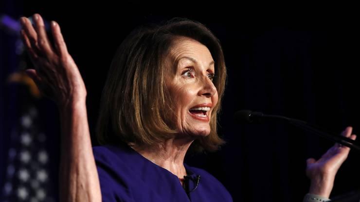 Nancy Pelosi - die Frauen holen auf.