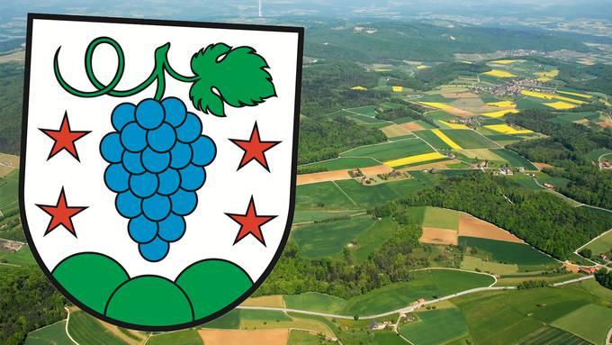 So sieht das Wappen der neuen Fusionsgemeinde Böztal aus.