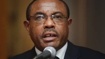 Desalegn ist seit 2012 Premierminister Äthiopiens, nun hat er seinen Rücktritt bekanntgegeben. Er wolle damit zu einer Lösung der innenpolitischen Krise beitragen, so die Begründung. (Archivbild)