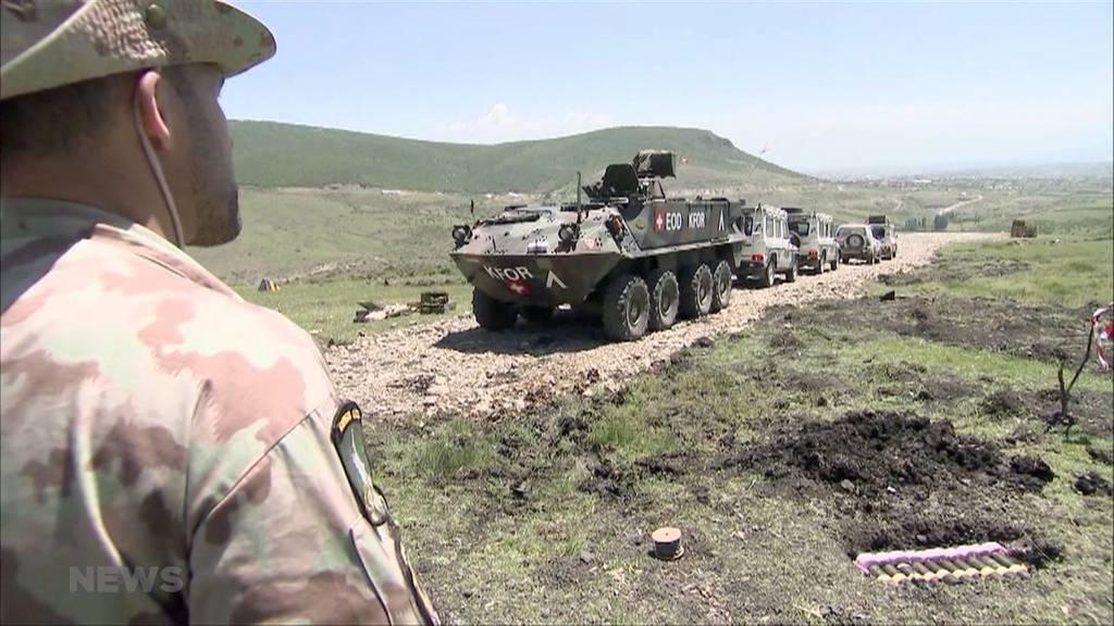 Nationalrat unterstützt Einsatz der Schweizer Armee im Kosovo