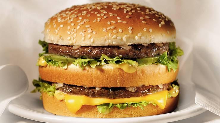 Das Symbol der Fast-Food-Ernährung: der Big Mac.
