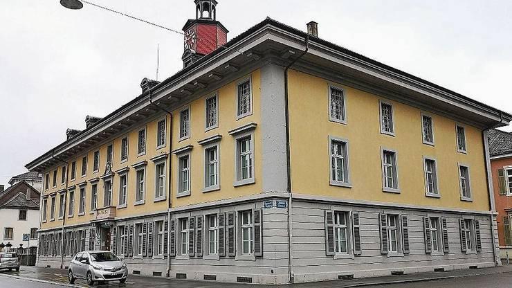 Nach der Kantons- die Stadtpolizei? Das Amtshaus an der «Laurenzi».