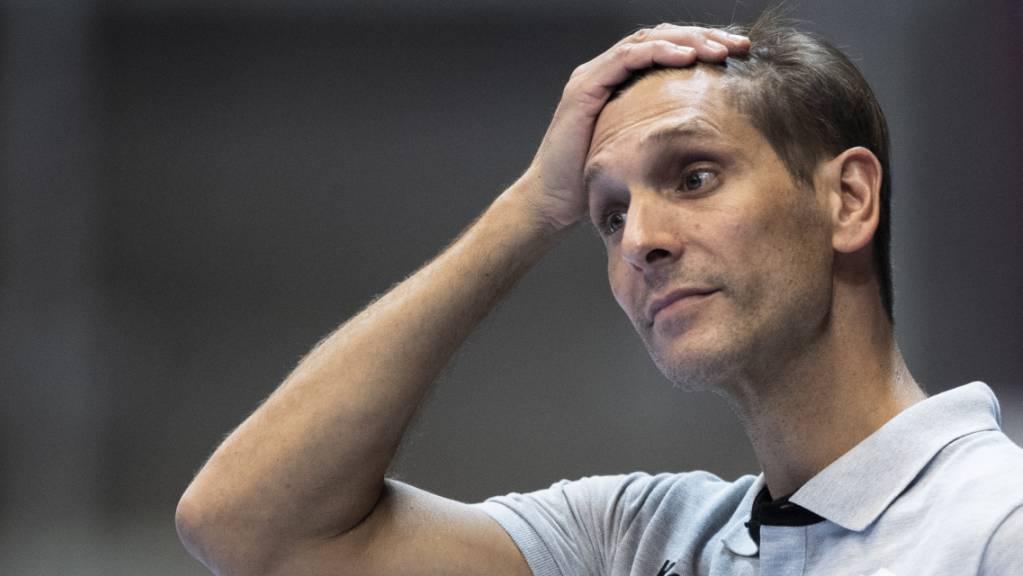 Pfadis Trainer Adrian Brüngger musste lange leiden, bis der Sieg feststand.