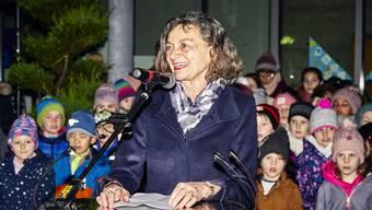 Die Wahlfeier der neuen Grossratspraesidentin Edith Saner