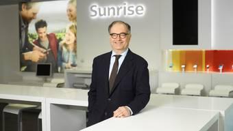 Steht wegen des Ausschlusses zweier Verwaltungsräte in der Kritik: Sunrise-Präsident Peter Kurer.
