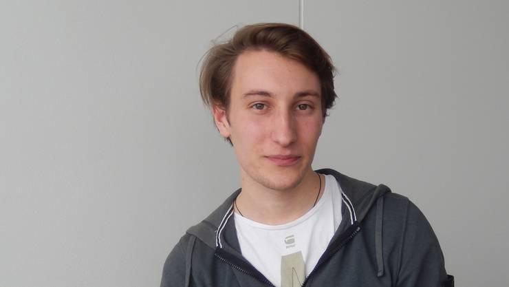 Frederik Maarsen, junger Regisseur mit ehrgeizigen Zielen.