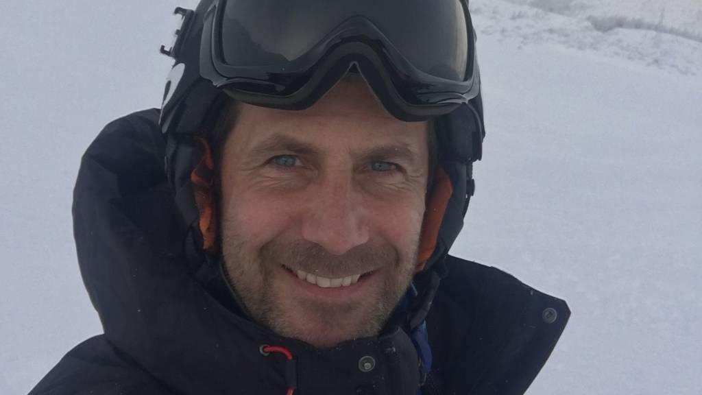 Oliver Carson wurde von einem Schneebrett erfasst.
