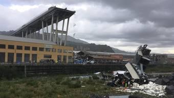 Das jüngste Unglück: In Genua kamen bei einem Brückeneinsturz mindestens 35 Menschen ums Leben.