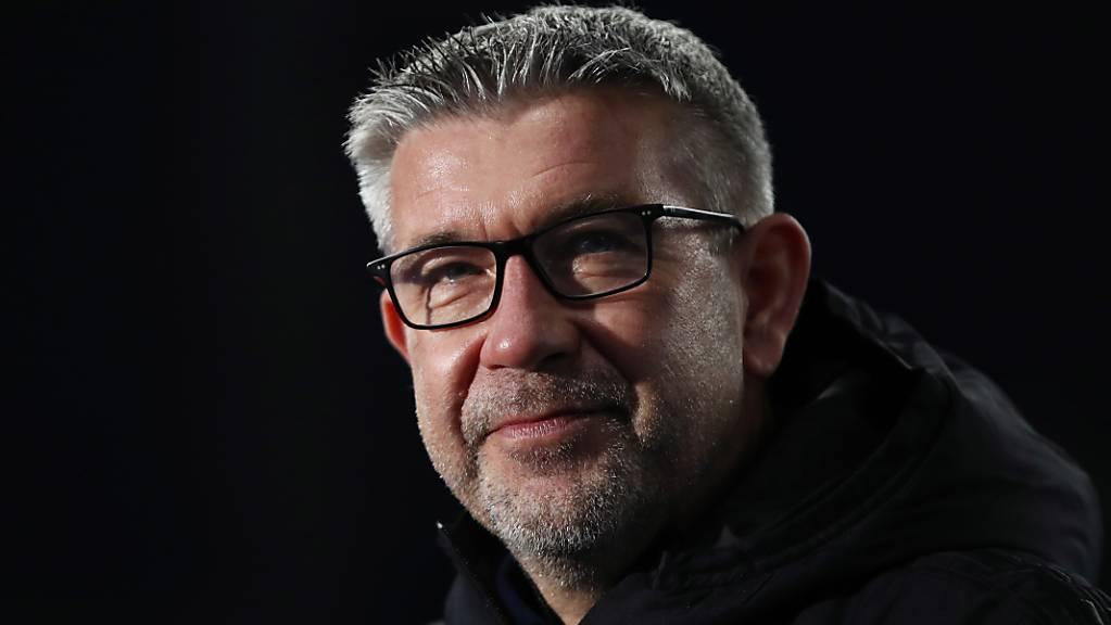 Urs Fischer strahlt, seine Union Berlin strotzt vor Selbstvertrauen. Der Schweizer Trainer und seine Mannschaft gewannen gegen Dortmund mit 2:1.