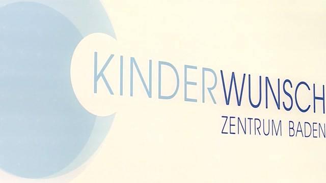 Einblick ins Kinderwunschzentrum Baden: Tele M1 hat Daniela und Adrian Meili begleitet.