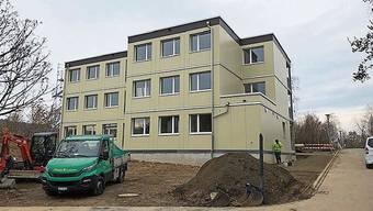 Die neue Asylunterkunft Luberzen: Ende Jahr hat die Stadt Dietikon sie dem Kanton abgekauft.