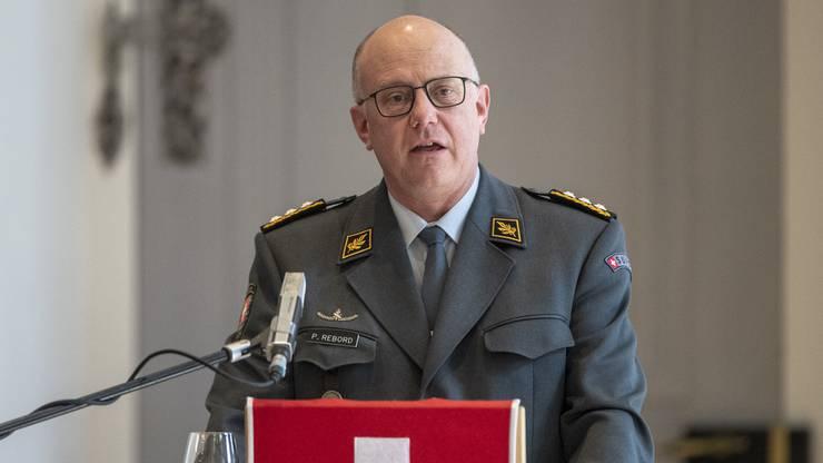 Philippe Rebord ist nur noch bis Ende 2019 Chef der Armee.