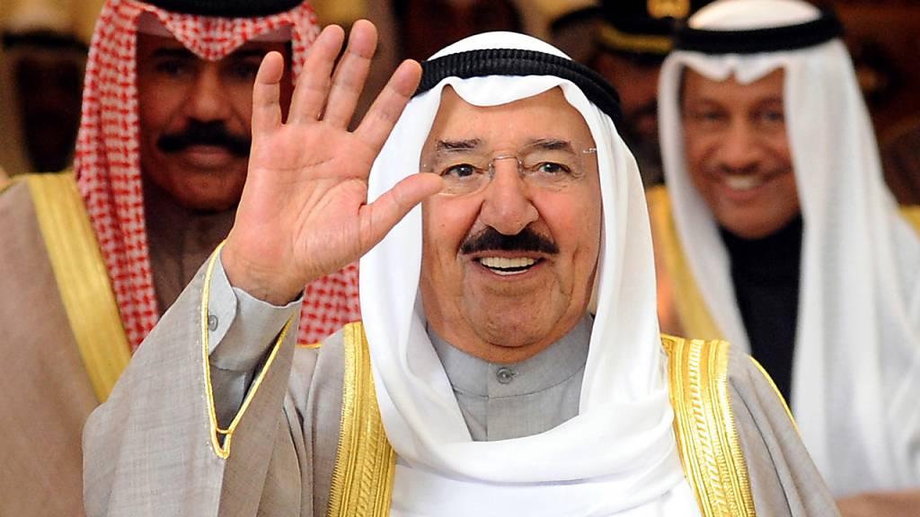 Emir von Kuwait mit 91 Jahren gestorben