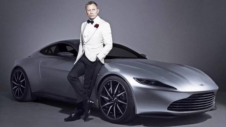 Nein, das ist nicht das neue Elektroauto von James Bond. Diesen Luxusschlitten fuhr er im letzten Teil.