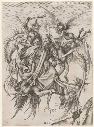 Kupferstich von Martin Schongauer.