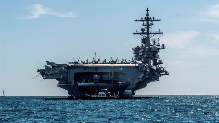 Der Flugzeugträger USS «Abraham Lincoln» ist auf dem Weg in den Persischen Golf.