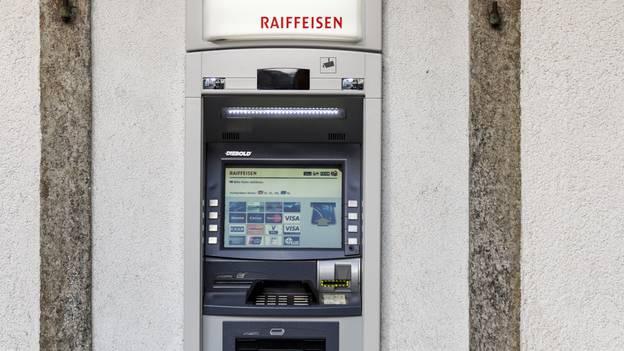 Der Bancomat wurde aufgebrochen (Symbolbild)