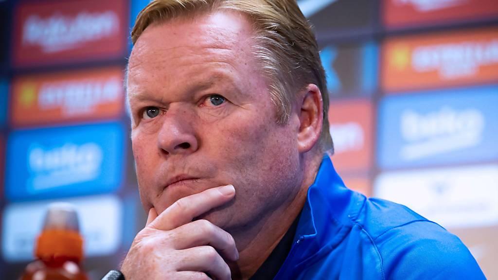Koeman nicht mehr Trainer des FC Barcelona