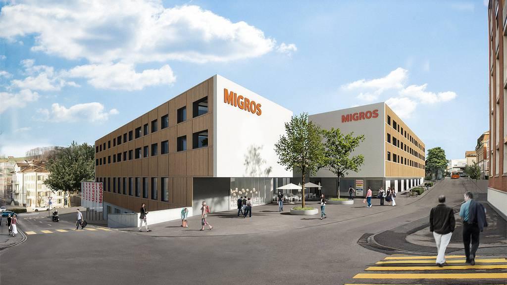 So soll der Migros-Neubau in Herisau aussehen