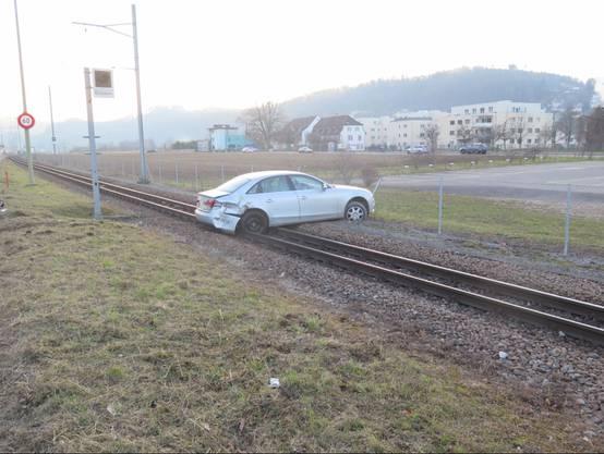 Kollision in Liestal endet auf Bahngeleisen