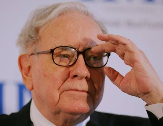Platz 3: Grossinvestor Warren Buffet (Vermögen: 60,8 Milliarden Dollar)