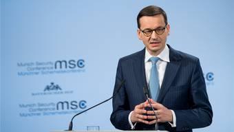 Polens Ministerpräsident Mateusz Morawiecki.KUHLMANN / HANDOUT/Keystone