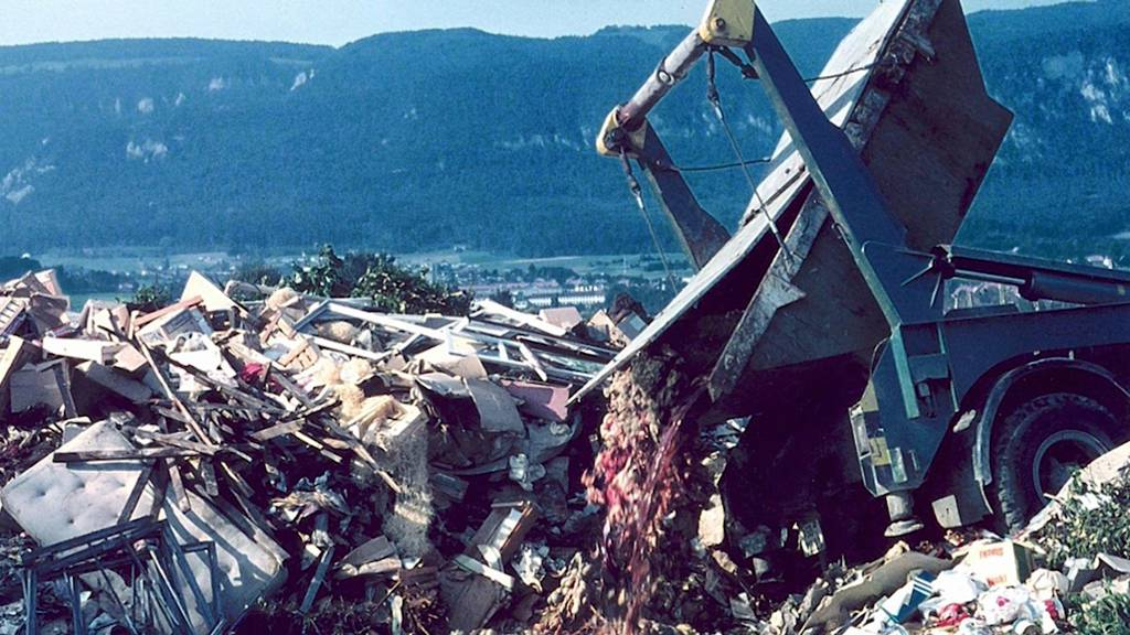 «Stadtmist» Solothurn: Alle drei Deponien werden vollständig ausgehoben