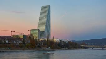 Die Führungen durch den Roche-Turm sind bereits für Monate ausgebucht. (Archiv)