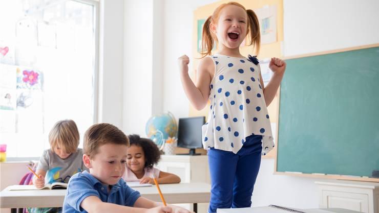 Durchschnittlich ein Kind pro Klasse ist in der Schweiz hyperaktiv oder so unkonzentriert, dass es ständig auffällt.