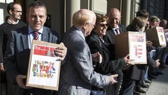 Die Exponenten des Egerkinger Komitees fordern die Gemeindepräsidentin auch mit dem «Verhüllungsverbot» wieder heraus.