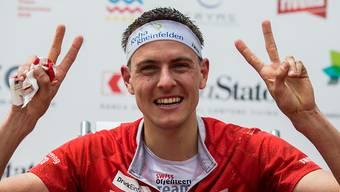 Matthias Kyburz ist der Sieger des Gesamtweltcup vor Daniel Hubmann.