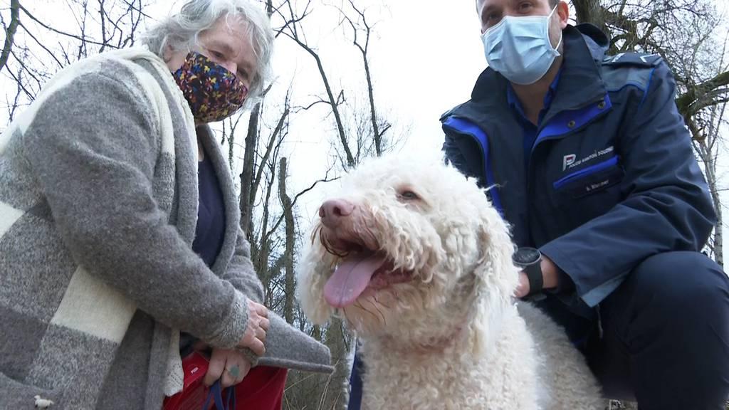 Frau ertrinkt nach Hunderettung fast selbst in Emme: «Sie haben mich aus der grössten Scheisse gezogen!»