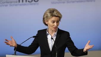 Zum Auftakt der Münchner Sicherheitskonferenz warnte die deutsche Verteidigungsministeriun Ursula von der Leyen die USA vor aussenpolitischen Alleingängen.